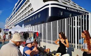 El Puerto de Almería buscará en la feria de cruceros de Lisboa más escalas de barcos turísticos