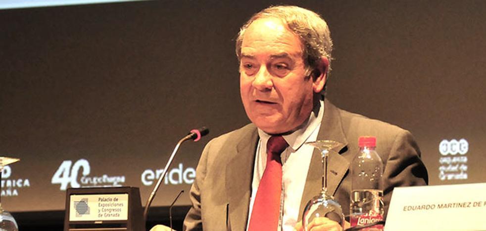 Manuel Titos, presidente del Consejo de Participación de Sierra Nevada
