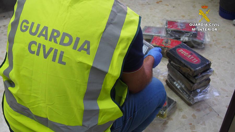 Así descubrió la Guardia Civil el mayor alijo de cocaína incautado en lo que va de año en Granada