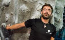 El escalador invidente Javi Aguilar se sube al cajón en Innsbruck