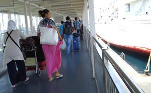 La OPE cierra con más de medio millón de pasajeros en Almería