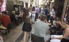 Uno de cada tres negocios de Granada es un bar o una tienda de alimentación