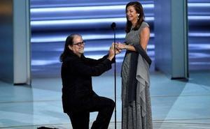 Una petición de matrimonio digna de un Oscar