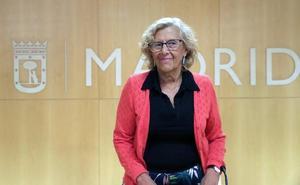 Carmena recibe el alta médica