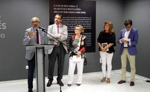 Una muestra homenajea de forma conjunta a Gaspar Becerra y Martínez Montañés