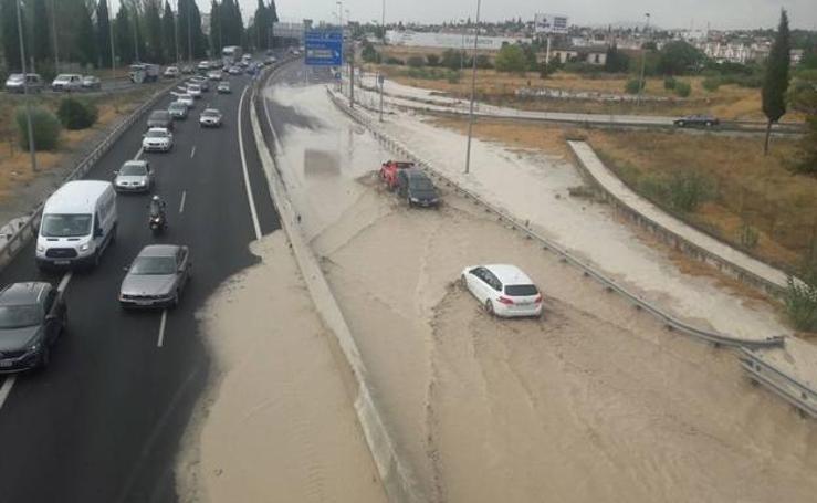 Las once inundaciones que ha sufrido Granada desde el mes de mayo