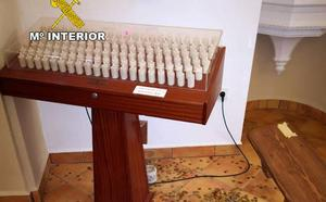 Detenido por robar en 'las velas' de una ermita de Martos