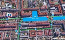 Estas son las calles que tendrán cortes de tráfico del jueves al domingo por las fiestas de Joaquina Eguaras