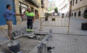 Comienza el arreglo de Santa María, ya sin autobuses