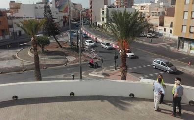 La rotonda del Moisés Ruiz estará terminada a finales de año
