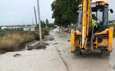 Valderrubio se inunda por quinta vez este año sin que caiga una sola gota en el pueblo