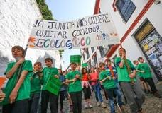 El colegio Gómez Moreno del Albaicín celebra este sábado con un ecomercado la recuperación de su comedor ecológico