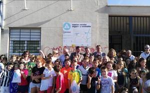 El Cándido Nogales suma un nuevo camino escolar seguro para ir a pie
