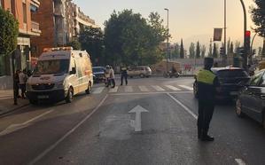 Atropellados dos niños en la Avenida de Granada de Jaén