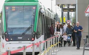 El metro transportó a 9,5 millones de pasajeros en su primer año de servicio