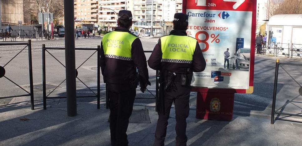 Arrestado por amenazar de muerte a su pareja en el Paseo de la Estación de Jaén