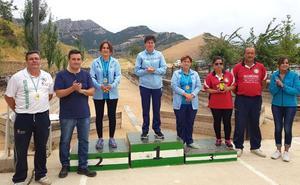 Estrella Martín, de la Caleruela, se alza con el Campeonato de Andalucía Valle