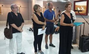 Almuñécar rinde un homenaje póstumo al artista Ángel Muñoz con una muestra de pintura
