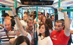 El metro quita 10.000 vehículos pero se queda a un 15% de la meta de viajeros