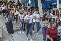 Largas colas para acceder al concierto de Pablo Alborán