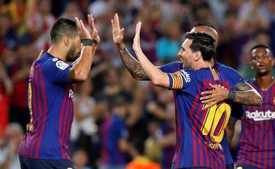 El Barça se queda con 10