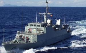 El patrullero 'Turia' se integra en los cazaminas de la OTAN