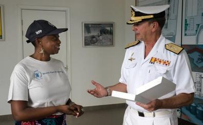 El Programa Mundial de Alimentos en Yibuti agradece la labor de la Operación 'Atalanta'
