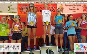 Abdelhadi El Mouaziz y Lourdes González ganan en la Subida al Quiebrajano