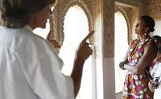 Famosos maravillados por la Alhambra de Granada