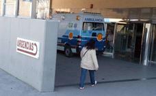 Un motorista herido tras un accidente con un turismo en Linares