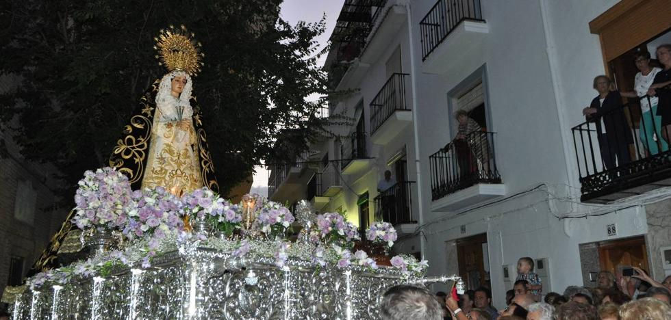 Lanjarón celebra sus fiestas en honor a la Virgen de los Dolores