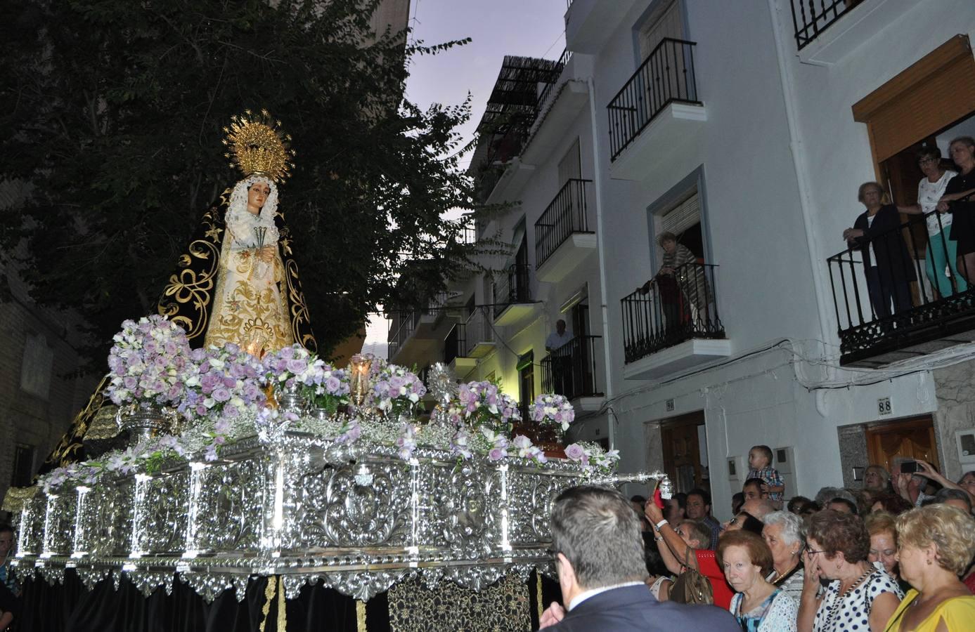 Lanjarón celebra sus fiestas de la Virgen de los Dolores