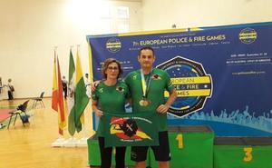 Miguel Ángel Peinado y Juan Lozano, campeones en los Juegos Europeos