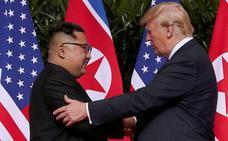 Trump dice un año después en la ONU que el «hombre cohete» es «genial»