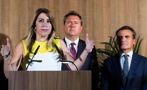 El PP obliga a Susana Díaz a comparecer en el Senado por el 'caso ERE' en víspera de elecciones