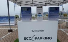 Hyundai pone en marcha el primer aparcamiento que se paga reciclando