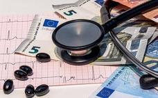 El gasto medio en el seguro médico se cifra en 811 euros anuales