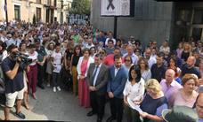Silencio por la muerte de Nuria Alonso