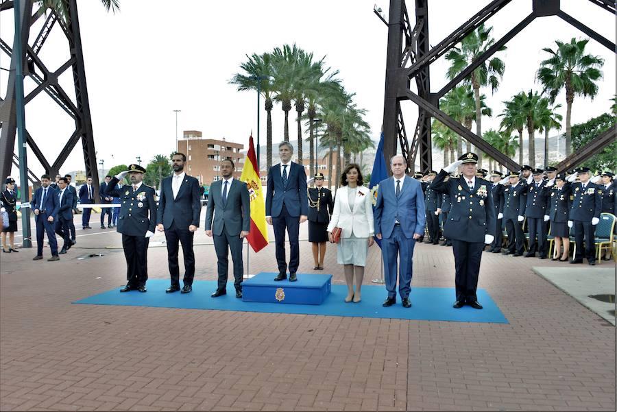 Grande-Marlaska reconoce en Almería la labor de la Policía Nacional