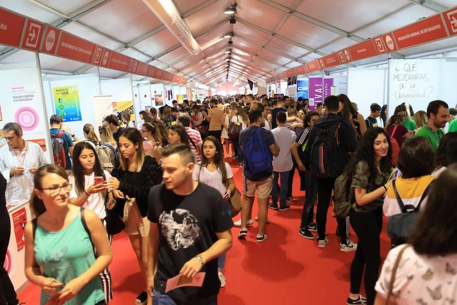 La UGR inaugura las Jornadas de Recepción de Estudiantes 2018/2019