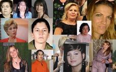 Todas las víctimas granadinas de las violencia de género