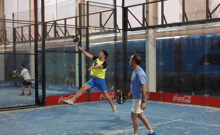 La primera jornada del Torneo Pádel Interempresas, en imágenes