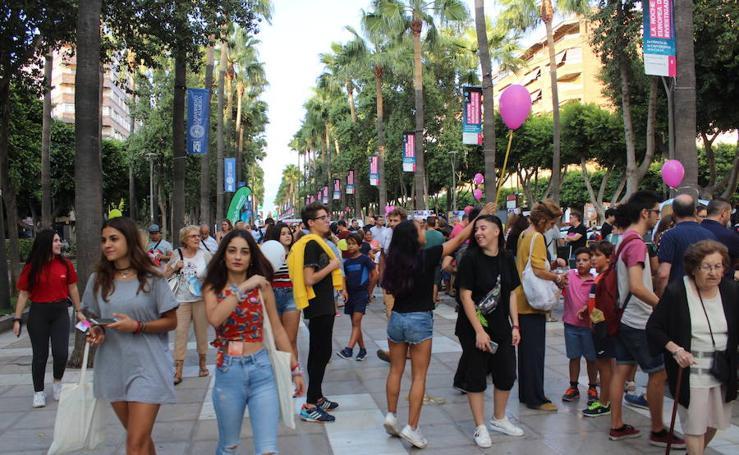 Almería disfruta de la Noche Europea de los Investigadores