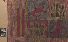 El IAPH restaura tres banderas del Museo de la Capilla Real de Granada