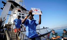 El barco Open Arms para el rescate de inmigrantes tendrá su sede en Motril