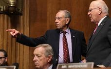 La conciencia de un senador republicano pone pausa a la confirmación de Kavanaugh