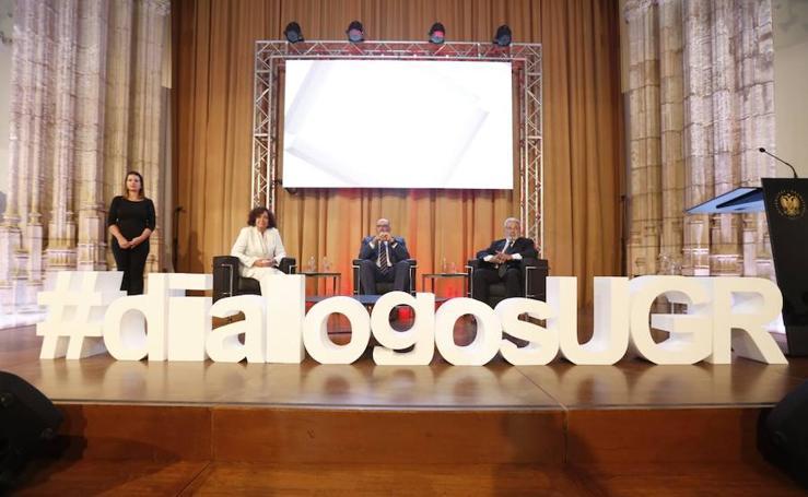 El presidente de Telefónica España participa en la primera edición de los 'Diálogos con la sociedad' de la UGR
