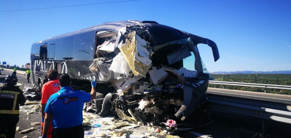 El atestado apunta a la falta de atención del conductor como causa del accidente de Bailén