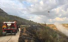 El Infoca da por extinguido el incendio en Jimena