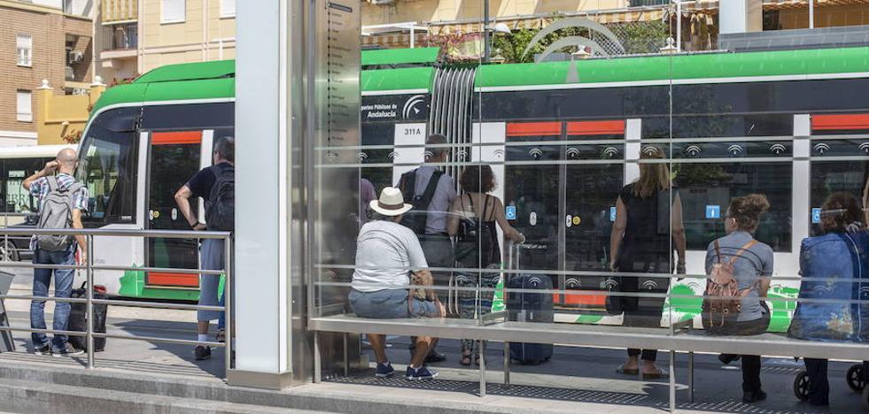 Los trabajadores del metro de Granada descartan nuevas protestas tras el desbloqueo de la negociación con la empresa
